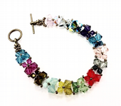 Crystal Butterfly Bracelet Beadwork Kit with SWAROVSKI® ELEMENTS - Multi